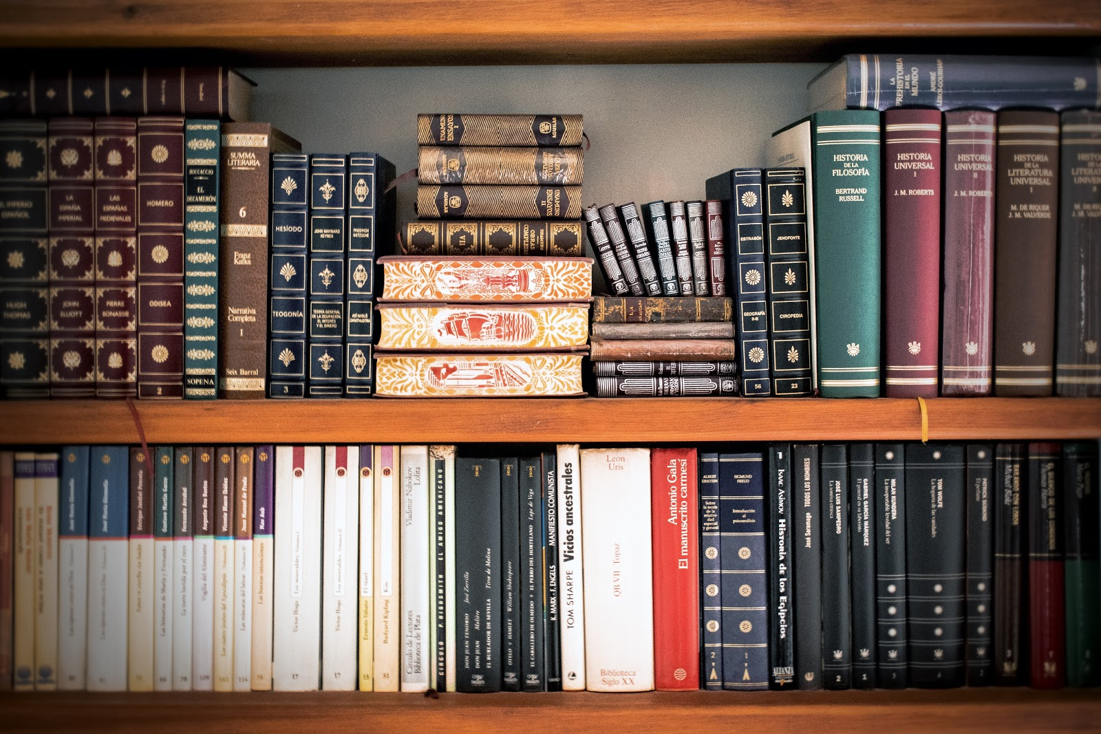 Bookshelf, representing corporate law