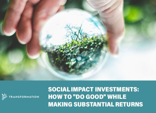 Social Impact Investments | WalterSchindler.com