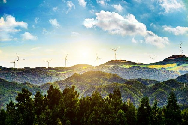 landscape and clean energy