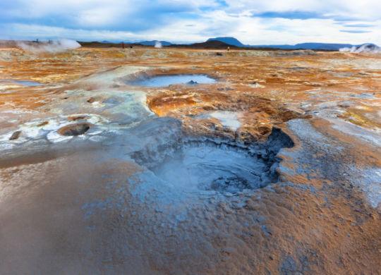 sulfur pits
