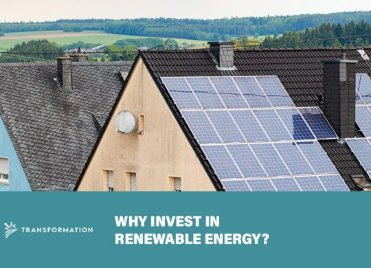 Why Invest in Renewable Energy