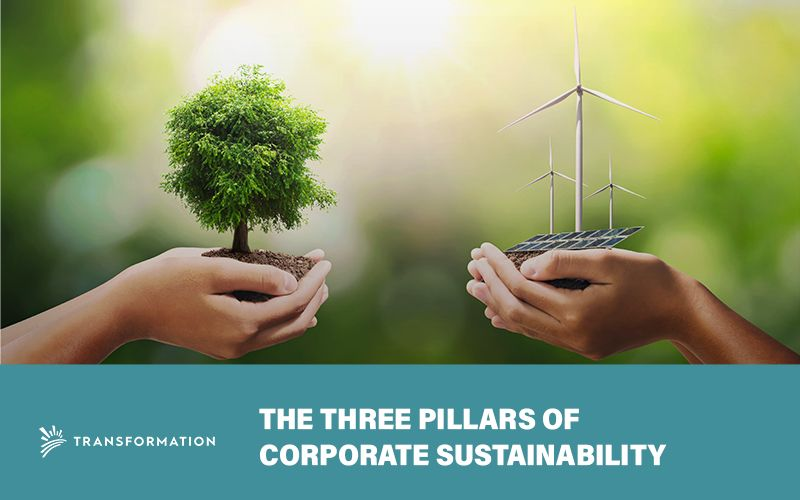 The Three Pillars of Corporate Sustainability | Transformation Holdings