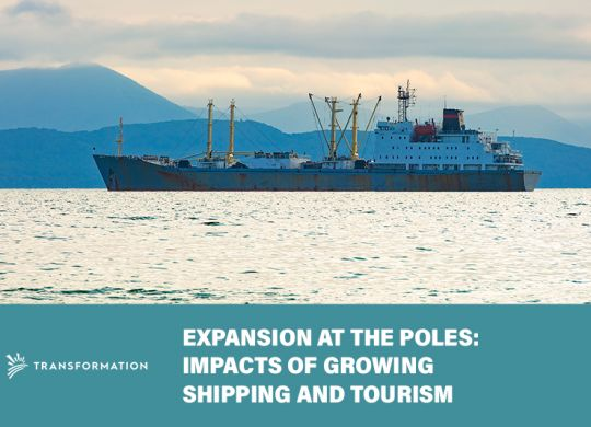 Arctic shipping and Antarctic tourism | WalterSchindler.com