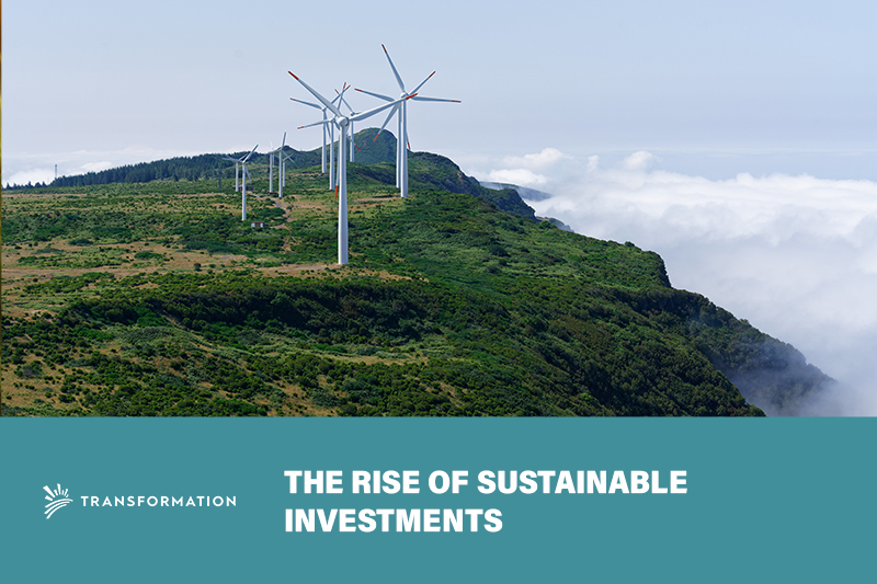 the rise of sustainable investments | WalterSchindler.com
