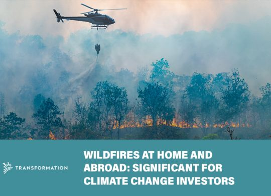 wild fires continuing to affect climate change
