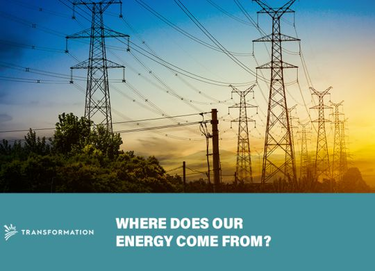 energy transformers - where does energy come from